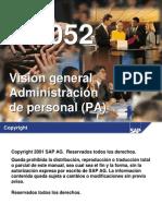 Hr052_Visión General de Administración de Personal (PA)