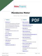 Mendocino motor