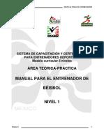 Manual de Beisbol Nivel 1, Nueva Estructura