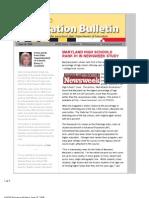 MSDE Education Bulletin 061909