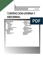 Contraccion Uterina y Abdominal