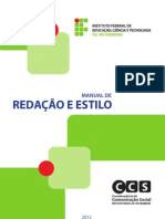 Manual de Redacao e Estilo