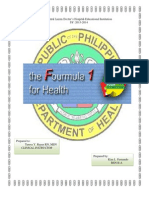 The Fourmula One for Health-.docx