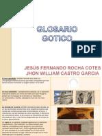 glosario gotico