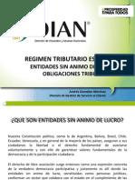 Regimen Tributario Especial 2013