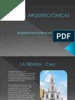 OBRAS ARQUITECTÓNICAS GOTICO EN COLOMBIA
