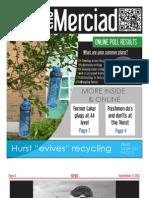 The Merciad, September 11, 2013