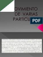 1exposicion Movimiento de Varias Particulas