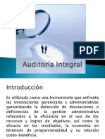 Presentación Auditoría Integral