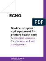 Echo - Medical Supplies and Equipment for Primary Health Care