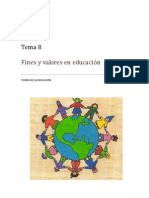 Fines y Valores en Educacion