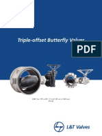 L&T ButterflyValves Triple Offset