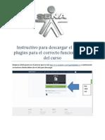 Instructivo Para Descargar El Pack de Plugins Para El Correcto Funcionamiento Del Curso
