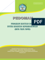 Pedoman Program Bantuan Dana