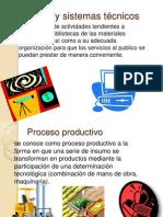 Procesos y sistemas técnicos