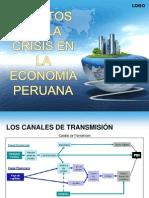 crisis economica en el perú