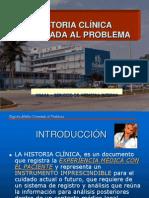 HISTORIA CLÍNICA ORIENTADA AL PROBLEMA
