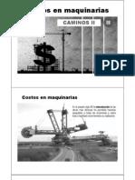09.00 Costos en Maquinarias