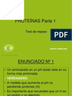 Test Repaso Proteinas Parte 1 Mcm