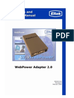 OpGuide WebPower Adapter
