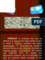 Products to Be Marketed