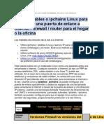 Configurar un firewall lógico(evidencia unidad2)