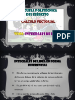 Calculo Vectorial Integrales de Linea
