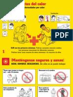 Poster Los Efectos Del Calor