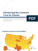 common core presentation pta2013
