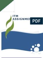 ITM Assignment