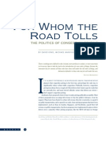 For Whom the Road Tolls - The Politics of Congestion Pricing