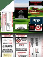 2013 Wildcat Baseball Golf Brochure