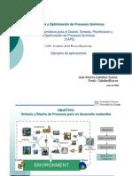 Sintesis y Optimización de Procesos