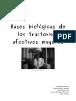 Bases Biológicas de los Trastornos Afectivos Mayores