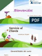 Servicio al Cliente sesión I