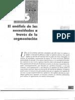 Capitulo 6 El Analisis de Las Necesidades a Traves de La Segmentacion 1 157951 158223