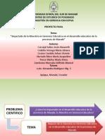 PROYECTO DE MAESTRIA DE INVESTIGACIÓN