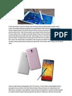 Samsung Galaxy Note Telah Terjual Lebih Dari 38 Juta Unit