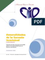 Generalidades de La Escuela Dominical