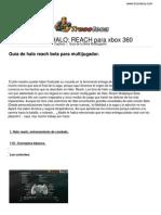 Guia Trucoteca Halo Reach Xbox 360