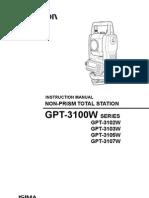 GPT-3100W 6455590020 manual