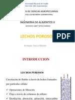 Lechos Porosos - Kristoper Garcia Mendo