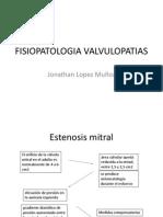 FISIOPATOLOGIA VALVULOPATIAS