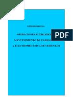 TMV PCPI Mantenimiento de Carroceria y Electromecanica de Vehiculos