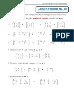 Matrices Laboratorio 02
