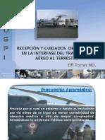 RECEPCIÓN Y TRANSPORTE DEL PACIENTE CRÍTICO