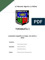 Informe de Topografia Brujula