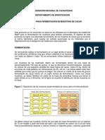 PROTOCOLO PARA FERMENTACION DE MUESTRAS DE CACAO_Microfermentación