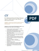 Mohammad Gamal EL Dean Hassan QA Specialist 01.01.2009