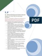 Mohammad Gamal EL Dean Hassan QC Specialist 01.01.2009